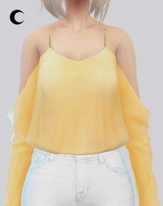 Kalewa-a: Kaliah Blouse • Sims 4 Downloads
