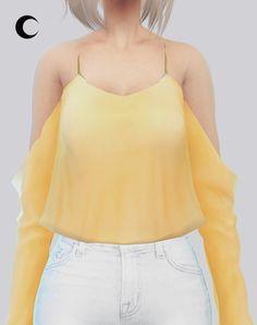Kalewa-a: Kaliah Blouse • Sims 4 Downloads