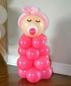 Cute centerpiece for baby shower