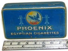 A Dutch Egyptian Cigarettes Tin from Philips Bros, Holland, around 1940ties, its in my Collection