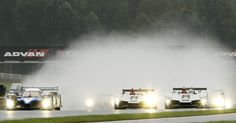 The Art of Racing in the Rain  Petit le Mans, 2009, the only time it was ever red-flagged due to rain.