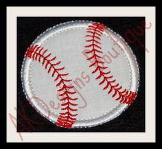 AKDesigns Boutique Machine Embroidery - No 863 Applique Baseball or Softball Machine Embroidery Designs , $5.60 (http://www.akdesignsboutique.com/no-863-applique-baseball-or-softball-machine-embroidery-designs/)