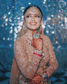 WedStruck on April 05 2020 1 person standing Golden Lehenga, Bridal Photography, Bridal Outfits, Bridal Lehenga, Wedding Attire, Wedding Vendors, That Look, How To Wear, Brides