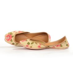 Summer Rose | Designer Juttis NeedleDust India