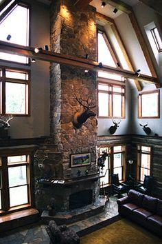 R.R. Hunting Lodge | Reclaimed DesignWorks | CABIN// | Pinterest ...
