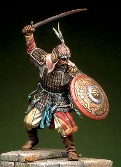 Ghulam Warrior (1099), by Romeo Models.