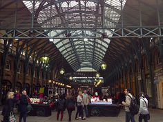 Covent Garden Market - Londres, Reino Unido (London, UK) - iPhone 4S & Camera+ Copyright © Juan Hernandez Orea