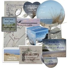 Whitewaves Wedding Stationery Beach,ocean,floral,scenic and much more. http://www.zazzle.com/whitewavespaperie