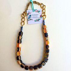 Ethnic coffee beaded necklace made with brownish beads and vintage jewelry partsVisit my Etsy Shop link in my Bio#jewlery #jewlerylover #jewelryoftheday #jewlerydesigner #accessories #Boho #blogger #bohochicjewelry #chic #California #designer #etsyjewelry #fashionista #fashionlover #fashionjewelry #gipsystyle #hippie #handmadejewelry #indiestyle #instajewelry #necklaces #obsessories #style #styleguide #styleinspiration #trendy #Eclectic #brown #bohochicjewelry #coffee