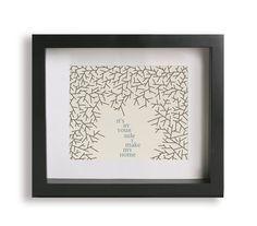 Loving Wings / Dave Matthews Band - Music Lyric Art - wedding gift idea, wedding sign, wall art, typography print, nursery decor, home decor