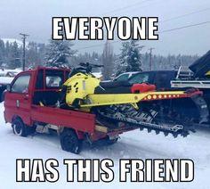 Yep-My friend   fastmowsfastplows.com   #fastmowsfastplows