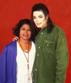 Michael Jackson and his mom
