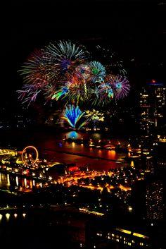 Fireworks at Navy Pier