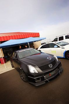 Hotrod Black Stealth Caddy - 700 horses - Penske Pimped - Made in America - Pd4ByYTB - Click here: http://www.YourTrueBlessing.com