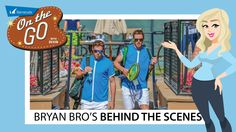 The Bryan Brothers were recently at Silver Creek Valley Country Club shooting a TV commercial for Barracuda Networks.