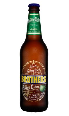 Nice little redesign by H for Brothers Cider.