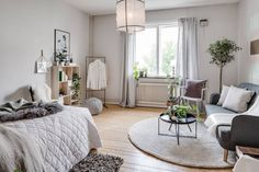 Studio apartment Follow Gravity Home: Blog - Instagram - Pinterest - Bloglovin - Facebook