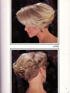 Short Wedge Blonde Haircut For Thin Hair