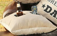 Pocket Pillow Mates - Dad, Grandpa, Man Cave, Birthday gifts for men