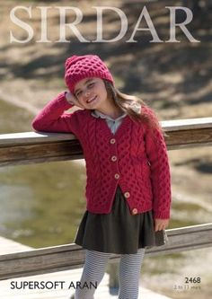 c53ee2d8f00af Cardigan and Hat in Sirdar Supersoft Aran - Discover more patterns by  Sirdar at LoveKnitting. The world s largest range of knitting supplies - we  stock ...