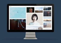 Responsive website designed by S-T for London based photographer David Ryle.