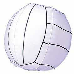 Add a few inflatable, beach volleyballs to your Olympic, sports party fun!