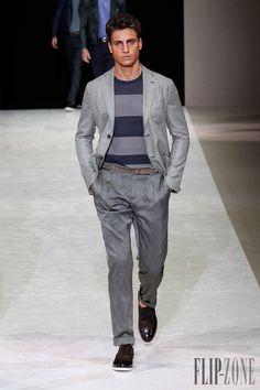 Giorgio Armani Spring-summer 2015 - Menswear - http://www.flip-zone.net/fashion/menswear/giorgio-armani-4785 - ©PixelFormula