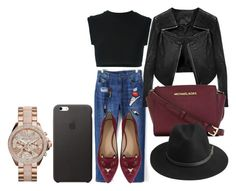 """""""Untitled #180"""" by mihaela1234 ❤ liked on Polyvore featuring adidas Originals, Charlotte Olympia, Linea Pelle, MICHAEL Michael Kors, BeckSöndergaard, women's clothing, women's fashion, women, female and woman"""