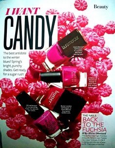 Instyle March 2012 Back to the Fuchsia