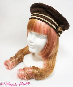 Angelic Pretty Melty Whip Chocolateベレー