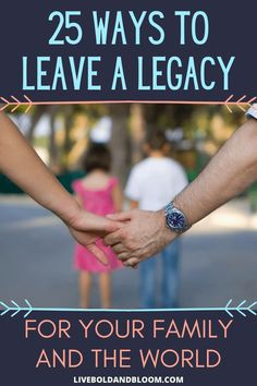 Choosing to build a legacy will bring purpose to your life. Learn the different ways to leave a legacy in this post. Your Family, Family Life, Legacy Quotes, Passion Quotes, Leaving A Legacy, Nobel Peace Prize, Work Life Balance, Mindful Living, Life Purpose