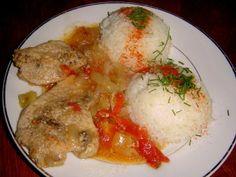 srbské rebierko s ryžou