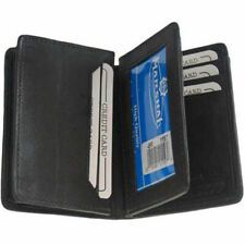 Mens Genuine Leather Bifold Credit Card Expandable Center Flap ID Holder for sale online Leather Front Pocket Wallet, Leather Card Case, Leather Bifold Wallet, Leather Badge Holder, Ridge Wallet, Rfid Blocking Wallet, Best Wallet, Checkbook Cover, Id Holder