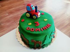Trakturek dort Birthday Cake, Desserts, Tailgate Desserts, Deserts, Birthday Cakes, Postres, Dessert, Cake Birthday, Plated Desserts