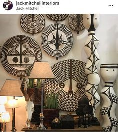 Afrocentric accessories #AfricanFurniture