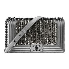 metallic knit lambskin ❤ liked on Polyvore featuring bags, handbags, chanel, bolsas, purses, clutches, metallic bag, flap bag, knit purse and lambskin handbag