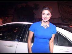 Priyanka Chopra snapped at a private party.