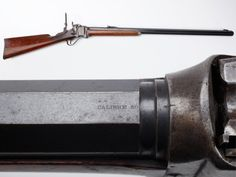"Sharps Big Fifty – Some said that the mighty Sharps made the West safe for Winchester. Well, this rifle at least made a part of Texas safe in the 1870s, based on its factory letter. Our GOTD is a Model 1874 Sharps that is chambered for the .50 2.5 inch cartridge that was renowned as the ""Big Fifty"" by buffalo hunters across the plains. First listed in 1875, this cartridge was a more powerful counterpart to the military .50-70 rounds used in the early breechloading rifles and carbines. Shotguns, Firearms, Revolver, Lever Action Rifles, Gun Art, Weapon Of Mass Destruction, Vintage Iron, Guns And Ammo, Buffalo"