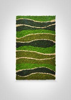 Moss Wall Art, Moss Art, Hotel Design Architecture, Moss Decor, Indoor Water Garden, Diy Home Decor Easy, Moss Garden, Nature Crafts, Tree Wall
