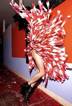 Raquel Zimmermann by Mario Sorrenti for V Magazine
