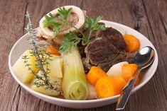 Pot-au-feu recipe: the easy recipe - Quick and Easy Recipes Whole30 Fish Recipes, Meat Recipes, Wine Recipes, Mexican Food Recipes, Italian Recipes, Vegetarian Recipes, Chicken Recipes, Cooking Recipes, Healthy Recipes