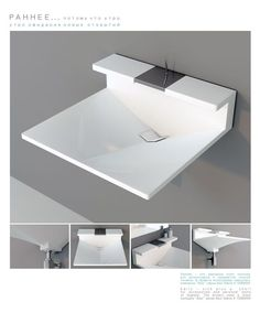 "Раковина ""РАННЕЕ"" by Sergey Lvov, #design #bath #bathroom #interior"