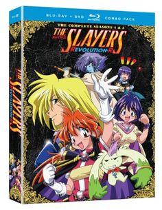 Slayers Season 4-5 DVD/Blu-ray Set (Hyb) (Revolution/Evolution-R) #RightStuf2013