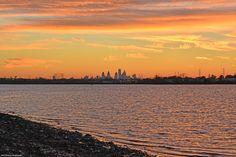 Philly Skyline after Sunset