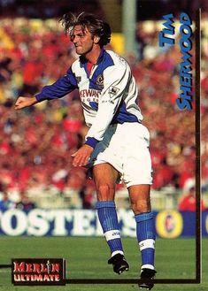 Tim Sherwood of Blackburn Rovers in 1994.