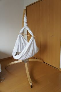 Miyo Baby Hammock. Safe, cocoon, peaceful. Baby was sleeping through the night by 4 weeks of age:-) Tokyo Urban Baby: Baby Products I Love