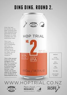 Hop Trial - Experimental Beer Line on Packaging of the World - Creative Package Design Gallery
