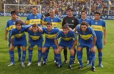 Boca campeón 2005 en Bahía Blanca.