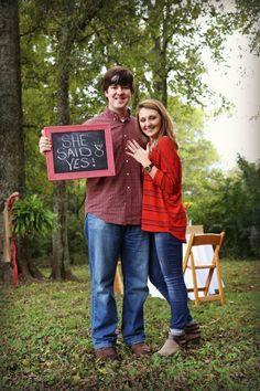 She said a yes!