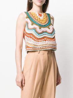 Crochet Tank Tops, Crochet Shirt, Cotton Crochet, Crochet Cardigan, Crochet Bikini, Knit Crochet, Crochet Pattern, Modern Crochet, Crochet Woman